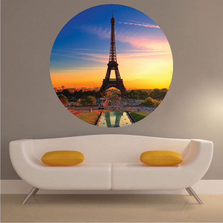 Eiffel Tower Wall Mural Decal Paris Wall Decal Murals Primedecals