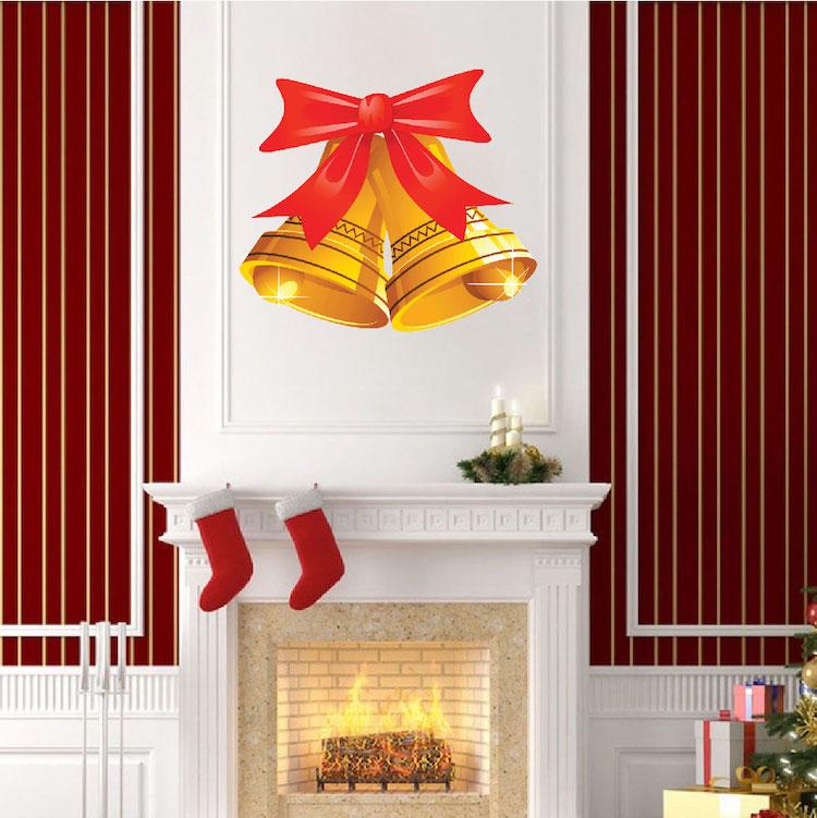 Christmas Bells Wall Decal - Christmas Murals - Primedecals