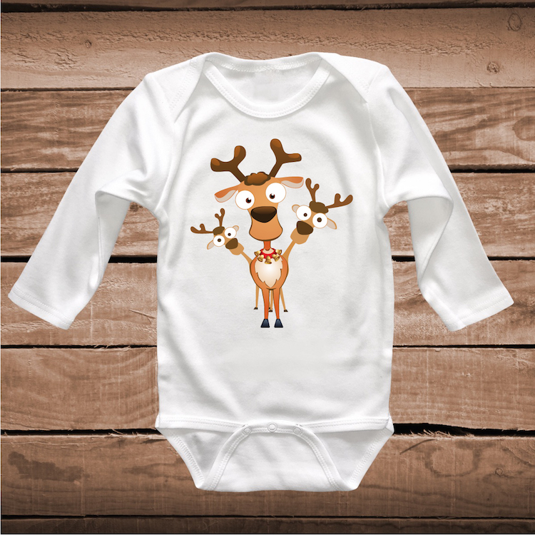 Reindeer Shirt Holiday Tees Cute Christmas T Shirt In Many