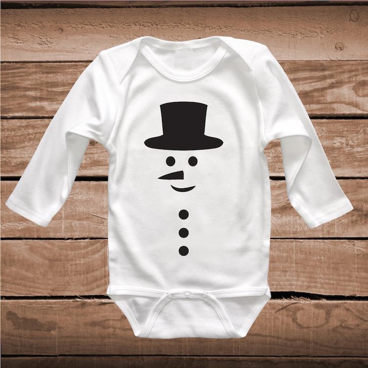 Snowman Shirt Holiday T Shirt Toddler T Shirt Snowman