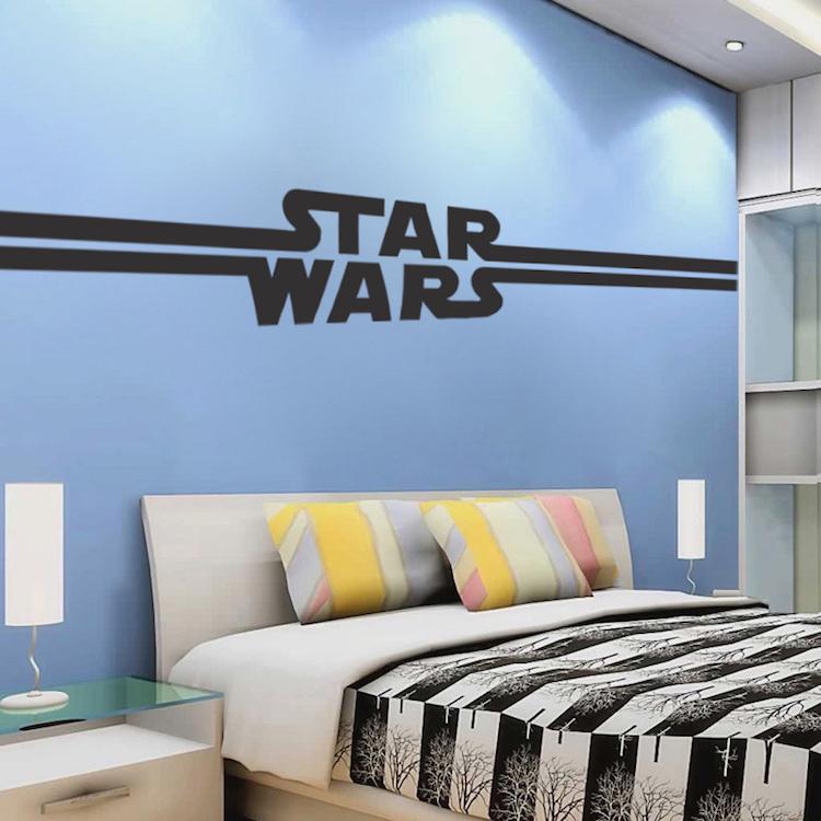 DIY Custom Bedroom Wall Decal
