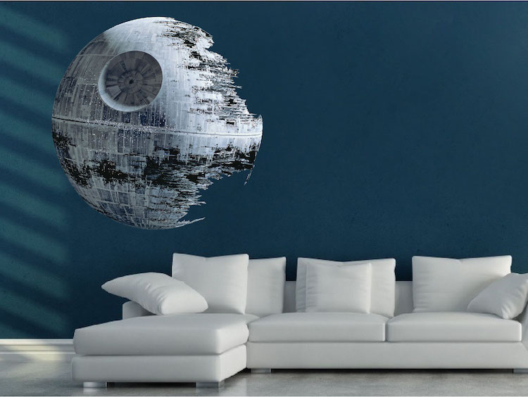 Death Star Wall Decal From Star Wars