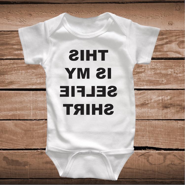 This Is My Selfie Shirt Custom Tee Or Baby Creeper