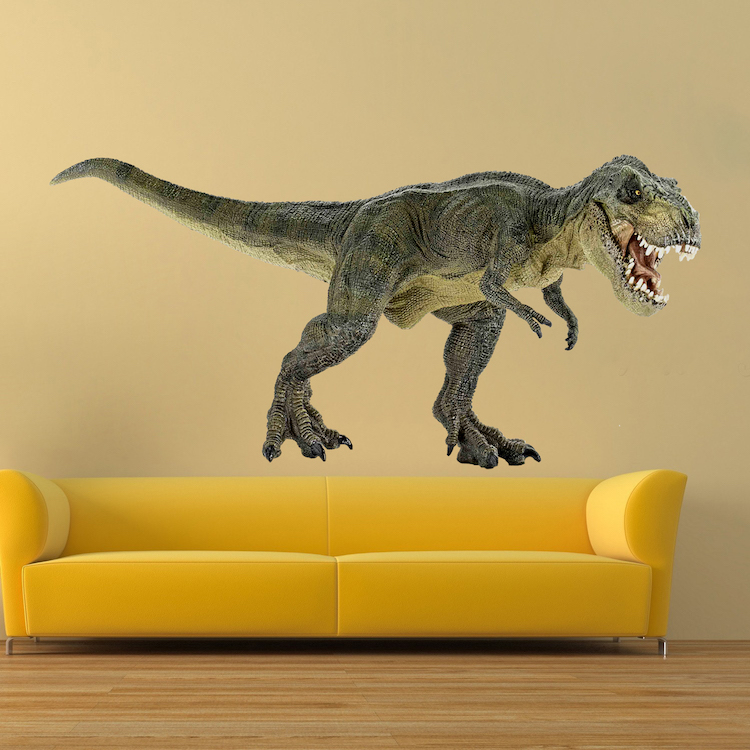 Dinosaur Wall Decal Trex Decal Animals Wall Decal Murals