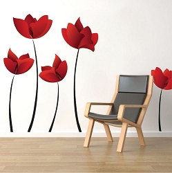 Flower Wall Decal Murals
