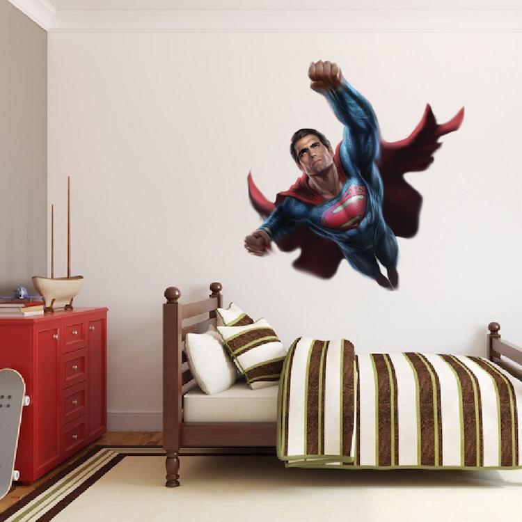 Superman Wall Decal Superhero Wall Design Primedecals