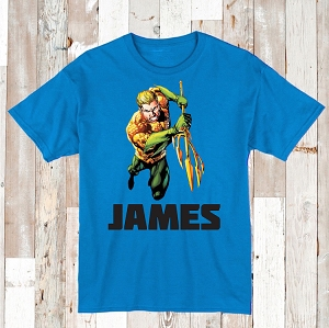 Aqua Man Superhero Custom Shirt