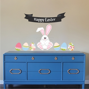 Easter Mural Decal Decoration