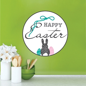 Easter Wall, Door and Window Mural Cling