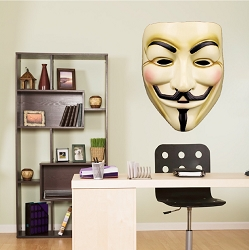 Guy Fawkes Wall Mural Decal