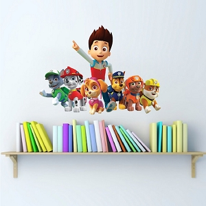 Paw Patrol Wall Decal Mural