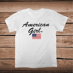 American Girl Custom Shirt
