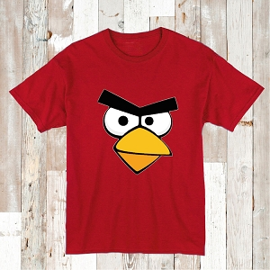Angry Bird Design On Bibs, Onesies or Tees
