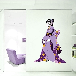 Geisha Wall Mural Decal