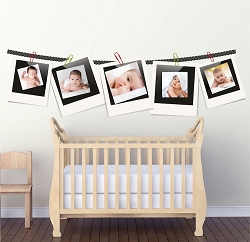 Picture Frame Wall Mural Decals