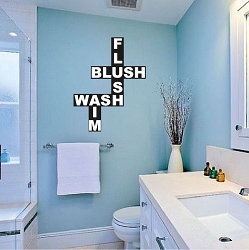 Bathroom Wall Mural Decal