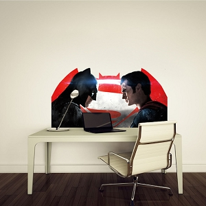 Batman Versus Superman Wall Decal