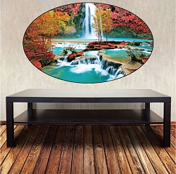 Waterfall Wall Mural Decal