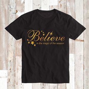 Believe Custom Shirt Tee Tees Baby Bodysuit