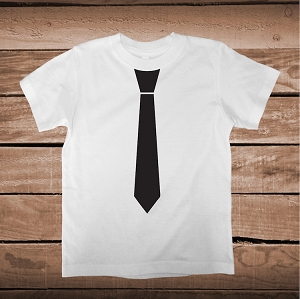Tie Shirt T-Shirt Tee Wedding Tie Formal Shirt