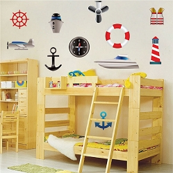 Sailor Wall Mural Decals