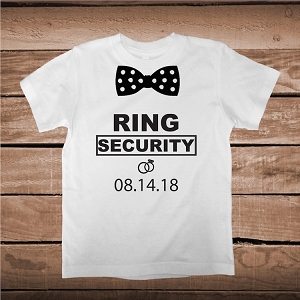 Ring Security Custom Shirt For Kids and Adults