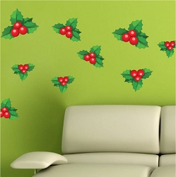 Mistletoe Wall Decals