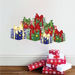 Christmas Present Wall Decals
