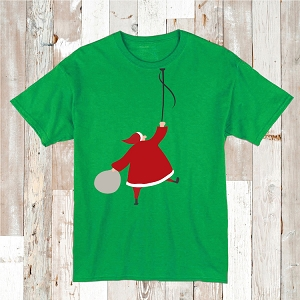 Hipster Santa T Shirt Graphic Tees