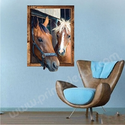 Horse Frame Wall Decal