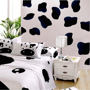 Cow Spot Wall Mural Decals