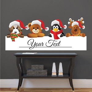 Personal Christmas Wall and Window Decal Quote
