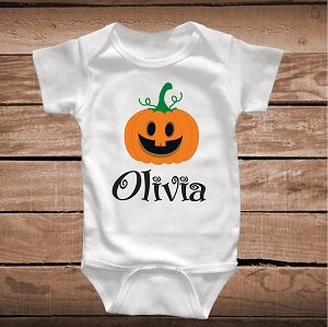 Personalized Thanksgiving Tee or Onesie for Kids