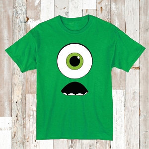 Cute Monster Face Shirt For Kids