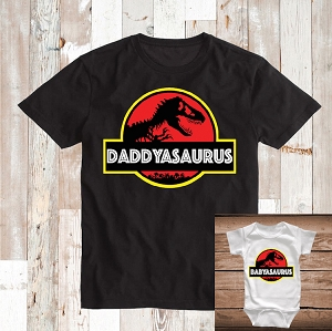 Dinosaurus Custom Tee and Onesie