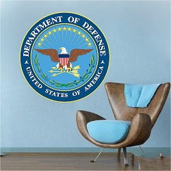 Department of Defense Wall Mural Decal