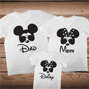 Custom Matching Family Vacation Shirts