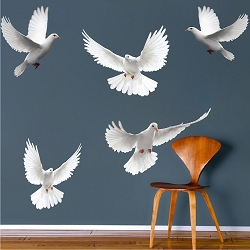 Dove Birds Wall Decal Murals