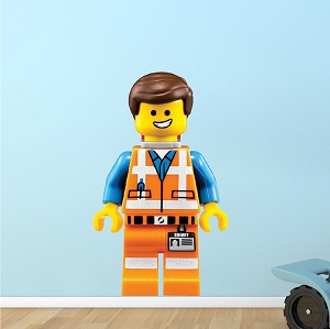 Lego Emmet Boys Bedroom Decal
