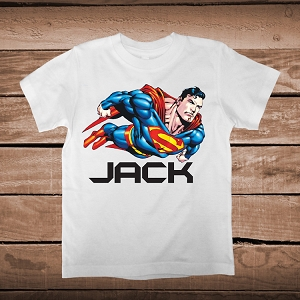Superman Shirt With Custom Name
