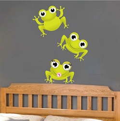 Frog Wall Mural Decals
