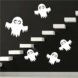 Ghost Wall Mural Decals