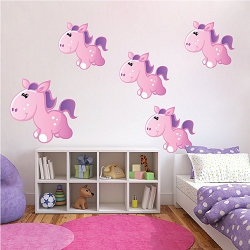 Pony Wall Mural Decals