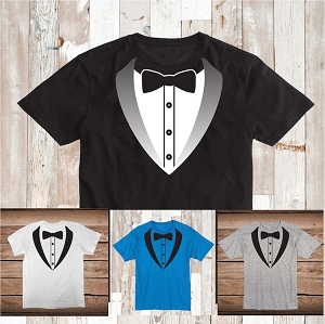 Tuxedo Wedding Custom Shirt