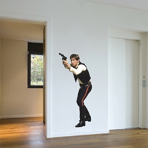 Movie Man Wall Decal Design