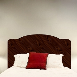 Mahogany Headboard Decal Mural