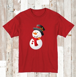 Snowman Shirt T-Shirt Kids and Adult Tees