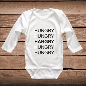Funny Hangry Onesies and Tees