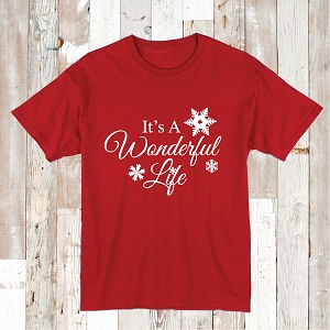 It's A Wonderful Life Shirt Tee Tees Baby Bodysuit
