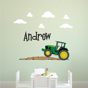 Custom John Deer Kids Bedroom Wall Decal